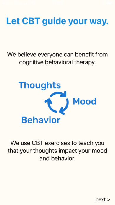 CBT Thought Therapy